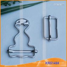 Botella de calabaza cinturón Buckel en blanco KR5149