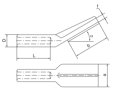 Copper Aluminum Transition Terminal Connectors