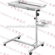 Utilisation chirurgicale SS utilisation table de mayus à l'hôpital mobile