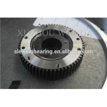 Equipamiento de placa giratoria certificado CCS usado recubrimiento negro rodamiento de anillo de engranaje de giro