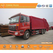 FOTON 6X4 waste compactor truck Euro 4