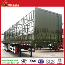 3 Fuwa Axles Fence Livestock Trailer