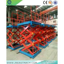 Table élévatrice hydraulique stationnaire de la cargaison 1.0t
