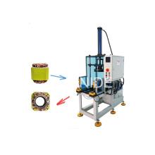 Automatische Statorwicklung Endformmaschine mit Schieber