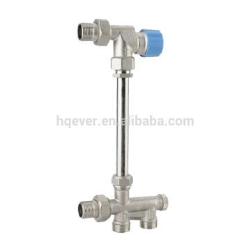 F valve de radiateur en laiton