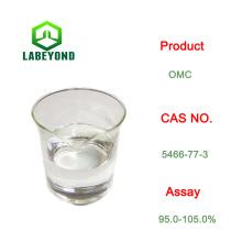 Pantalla solar cosmética 4-metoxicinamato de octilo OMC cas 5466-77-3