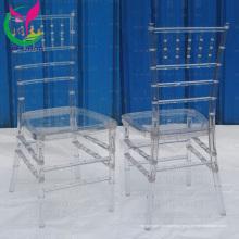 Оптовый прозрачный стул Chiavari смолы Yc-A60-04