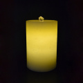 Lilin flameless air mancur Aquaflame dipimpin lilin