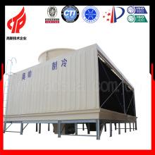 Servicios de torre de refrigeración rectangular de flujo transversal de alta eficiencia