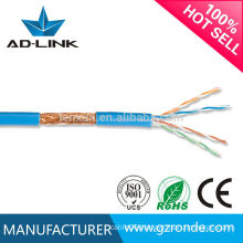 Flat 4P 24AWG Standard Copper Network Cable Manufacturer cat5 SFTP lan cable In Guangzhou Hot Sale