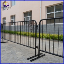 Portable galvanized Steel Traffic  Barrier