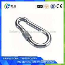 Fabricante de la fábrica Metal inoxidable Snap Hook