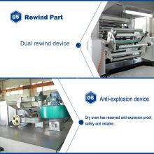Máquina de recubrimiento de película de hoja de lentejuelas PET metalizado TB1500