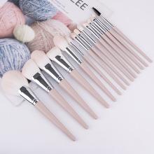 профессиональные кабуки розовые косметические кисти синтетический набор