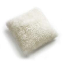 procédés de teinture méticuleux Tibet Lamb Fur Throw Oreillers