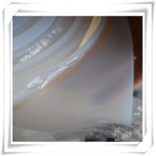 Hoja transparente de caucho transparente de silicona / silicona