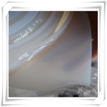 Folha de borracha transparente do silicone / silicone claro