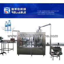 Petit équipement de chaîne de production d'eau potable en bouteille automatique