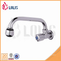 China fornecedor único punho faucet cozinha de parede para água fria