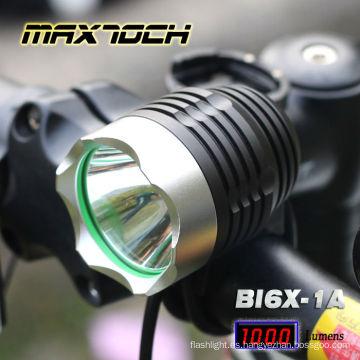 Maxtoch BI6X-1A 1000 Lumen 4 * 18650 T6 LED Cree bicicleta luz