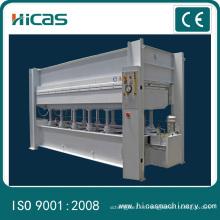 Máquina automática de la línea de producción del MDF, prensa caliente para el MDF