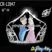 Coronas del desfile de encargo del día de San Valentín