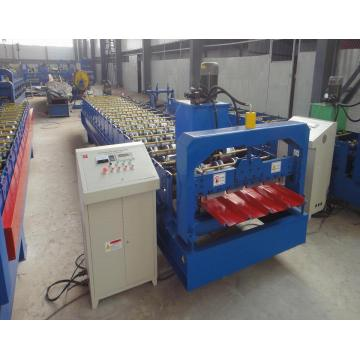 CNC Color Steel Trapezoidal Roof Panel Roofing Machine