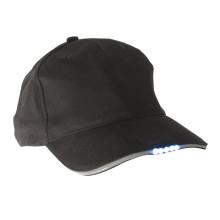 Kundenspezifische LED-Hut-Baseballmütze mit LED-Leuchten
