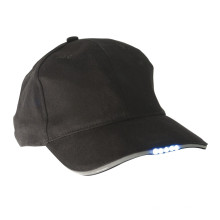 Chapeaux faits sur commande de baseball de chapeau de LED avec des lumières de LED
