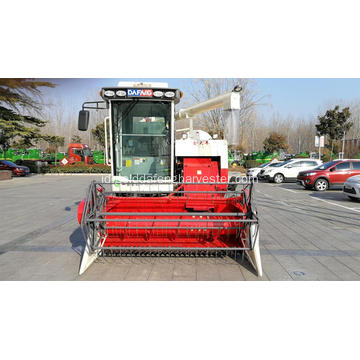Pertanian Mini Rice Gandum Combine Harvester