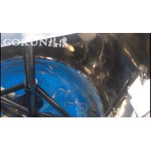 Máquina de mezcla rápida del mezclador del raspador del tanque del acero inoxidable del precio de fábrica de la entrega