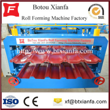 Glazed Roof Cladding Double Roll Forming Machine