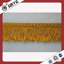 Decorativo cepillo franja recorte de cortina, sofá, almohada