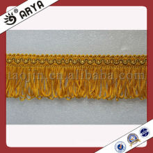Decorative Brush Fringe Trimming for Curtain,Sofa,Pillow
