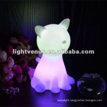 RGB Color Changing cute animal led night light