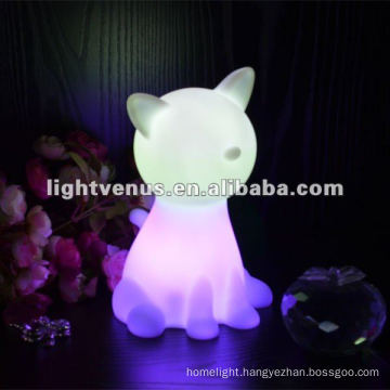 led color changing automatic night light
