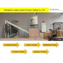 Machines de ligne de granule de bois de la biomasse 1.0t / H à vendre