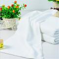 white hotel microfiber bath towel