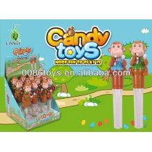 2013 brinquedos engraçados doces do macaco engraçado