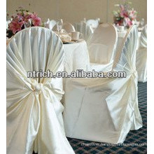 wholesale top quality wedding chair cover, cheap universal wedding chair cover, satin self-tied wrap chair cover