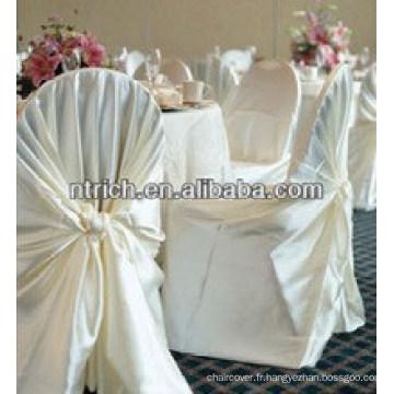 couverture de chaise auto satin gros en bon marché et à la mode-wraped pour banquet de mariage