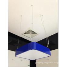 High Quality LED Blue Shade Iron Hanging Pendant Light