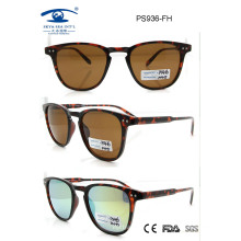 2015 Fashion Style Newest High Quality Plastic Sunglass (PS936)