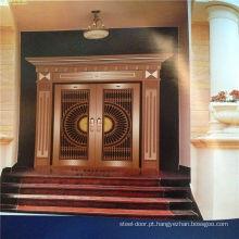 porta principal de aço inoxidável do estilo o mais novo colorido