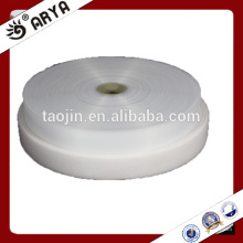 Weiße Farbe 30% Nylon und 70% Polyester Haken und Loops, 1''für Babygebrauch