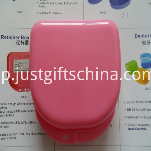 Promotional Large Size Rounded Rectangle Denture Box_4
