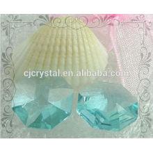 Großhandel Machine Cut Crystal Octagons
