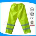Pantalon de sécurité réfléchissant jaune avec doublure en maille