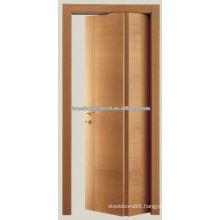 Cherry Carving Bifold Wood Door, Room Door