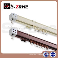 GD17 Aluminum Sliding Curtain Track Drapery Hardware Curtain Track